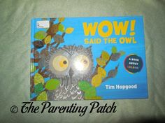 'Wow! Said the Owl' Book Review | Parenting Patch