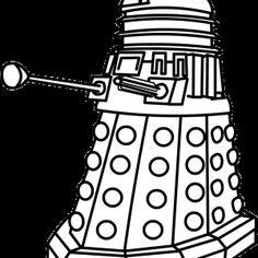 Hand drawn Dalek