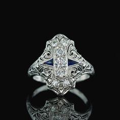 Original Diamond Dinner Ring