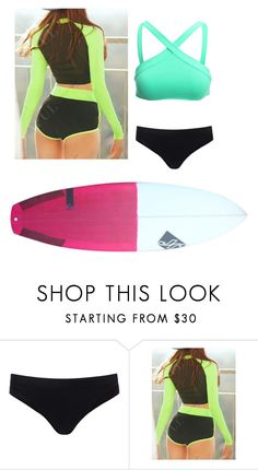 """Surfing 🌊"" by sarahmae-2307 ❤ liked on Polyvore featuring Sweaty Betty and L*Space"