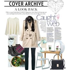 office look by vicococeres on Polyvore featuring Alfani, Monki, Forever 21, Kate Spade and Vitra