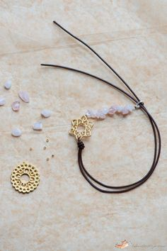 Leather Bracelet Tutorial With A Little Trick (And Give Away!)