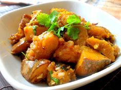 frozen wings: Chinese Style Stir Fry Pumpkin with Dried Shrimps