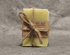 Herbal Soap Sample Set 2-Chickweed and Marshmallow, Rosehip, Echinacea and Goldenseal, Plantain
