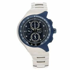 Seiko Men's SNAD41 Streamline Stainless Steel Blue Chronograph Dial Watch Seiko. $187.63. Blue dial. Stainless steel bracelet. Water-resistant to 330 feet (100 M). Scratch resistant hardlex. Stainless steel case. Save 62% Off!