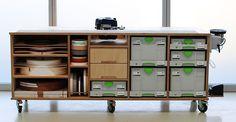 Festool workbench with SYS-AZ Drawers