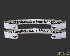 Bridesmaid Gifts | Friend Gift | Friend Gift | Best Friend Gift | Friendship Bracelets | Korena Loves | KLSM