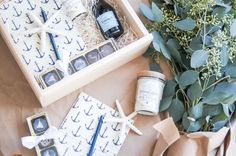 CUSTOM CLIENT GIFTS Marigold & Grey creates artisan gifts for all occasions. Wedding welcome gifts. Workshop swag. Client gifts. Corporate event gifts. Bridesmaid gifts. Groomsmen Gifts. Holiday Gifts. Order online or inquire about custom gift design.