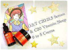 O.S.T C20 / C21,5 Vit C Serum & C20 Vit Sleep Crema REVIEW!   Skincare R...
