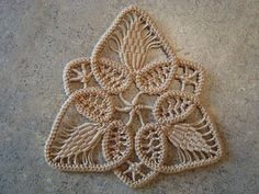 Romanian Point Lace: tutorial
