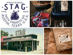 STAG - Provisions for Men http://www.stagaustin.com/ austingive5.com