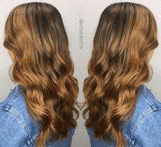 18 Honey Highlights Ideas You Should Check Honey Highlights, Hair Highlights, Make You Up, Honey Hair, Dark Hair, Hair Goals, Looks Great, Your Hair, Hair Color
