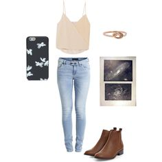 suggested outfit by loverofeverything8infinite on Polyvore featuring polyvore fashion style Chelsea Flower Object Collectors Item