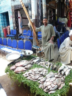 Mercato a Luxor, Egitto