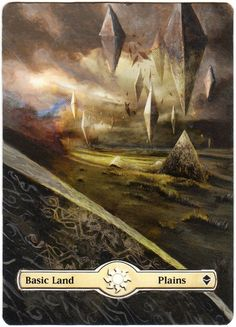 awesome magic the gathering basic lands alter