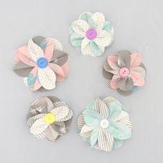 DIY Paper Flower Kit, Pastel