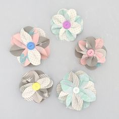 DIY Paper Flower Kit, Pastel