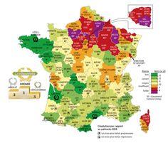 Cartographie pour La Vie, en partenariat avec France Bleu et France 3 Régions