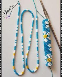 Me Gusta, 126 Comentarios - Gülşah - Diy Crafts Crochet Beaded Bracelets, Bead Crochet Rope, Bead Loom Bracelets, Beaded Jewelry Patterns, Bracelet Patterns, Beading Patterns, Embroidery Bracelets, Beaded Crochet, Bead Crochet Patterns