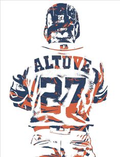 Jose Altuve Houston Astros Pixel Art 10 Art Print by Joe Hamilton. All prints are professionally printed, packaged, and shipped within 3 - 4 business days. Choose from multiple sizes and hundreds of frame and mat options.