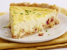This quiche filling is like liquid satin--its just so rich and creamy, not at all eggy tasting. The original recipe used a dash of nutmeg instead of the cayenne pepper, feel free to give it try!