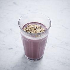 Milkshake med ristet havre