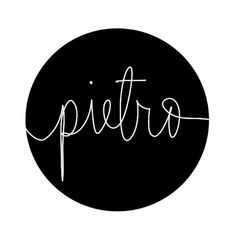 """Baby boy's name Pietro. A favorite of mine. A street I walked on every day in Rome. Italian for Peter, which mean """"rock.""""   