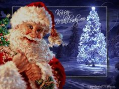 Krásny mikulášsky večer! Online Image Editor, Online Images, Teddy Bear, Christmas Ornaments, Holiday Decor, Painting, Animals, Art, Art Background