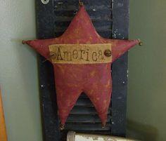 Primitive Summer Americana Star