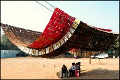 creativity and business: Art Installations using Recycled, Reclaimed and Inexpensive materials