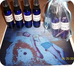Moon Mists created to correspond with each phase of the Moon, helping you to stay connected