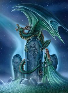 A Dragon Ritual by CLB-Raveneye