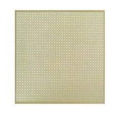 MD Building Products 12 in. x 24 in. Lincane Aluminum Sheet in Brass-56012 - The Home Depot