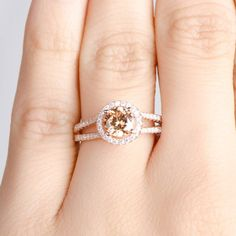 18 Best Claw Prong Engagement Rings Images In 2018 Halo Rings