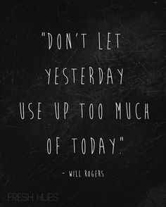 Why not today!!!