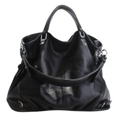 Tilli Caiman Leather Hobo Handbag ($155) ❤ liked on Polyvore featuring bags, handbags, shoulder bags, purses, bolsas, bolsos, women, women's bags, leather hobo purses and leather purses