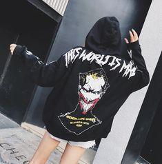 First Joker, Joker Costume, Hooded Sweatshirts, Hoodies, Basement, Hip Hop, Fat, Hipster, Graphic Sweatshirt
