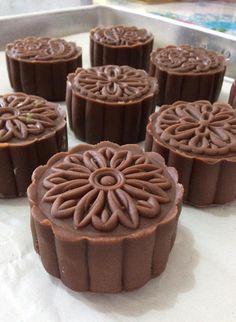 ~~ Hershey's Chocolate MoonCake ~~ Hershey's 朱克力月饼