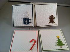 Freshly Made Sketches Christmas Card Set Using Scentsational Stamp Set