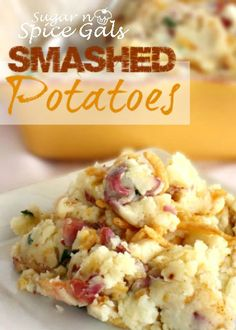 Spice Gals: Loaded Smashed Potatoes