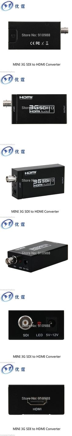 SDI TO HDMI Converter 3G HD-sdi input hdmi output 1080p60HZ