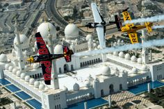 Red Bull Air Race World Championship sobre los Emiratos Árabes