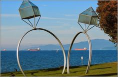 Wedding Ring Sculpture - Vancouver