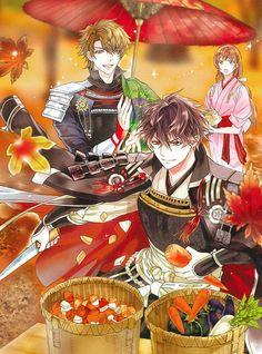 Ikemen Sengoku ❤️ Nobunaga and Hideyoshi
