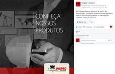 Conteúdo interno da Inspec no seu Facebook.