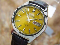 Seiko 5 aanbod: 725 € Seiko 5 Actus Mens Rare Automatic 21 Jewels Stainless Japanese..., Staal; Automatisch; Staat 1 (zeer goed); Jaar 1970-1979; Locatie: Ver. Staten, CA, LOS ANGELES