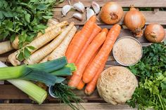 Domácí vegeta krok za krokem Korn, Detox, Carrots, Vegetables, Recipes, Carrot, Vegetable Recipes, Ripped Recipes