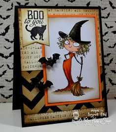 Kraftin' Kimmie's Korner: Halloween Kard Kit!!!