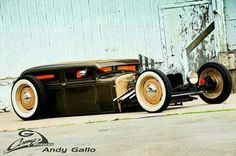 this is about as far as you can take chopped and dropped Rat Rods, Rat Rod Cars, Pedal Cars, Traditional Hot Rod, Classic Hot Rod, Sweet Cars, Us Cars, American Muscle Cars, Custom Cars