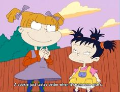 Angelica, the brattiest toddler of our childhood